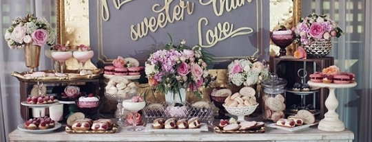 Wonderful Candy Buffet For A Wedding