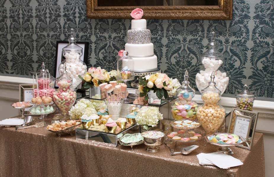 candy bars buffets tables 9 step ultimate diy ideas guide rh mycustomcandy com pink wedding candy buffet wedding candy buffet pictures