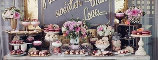 Candy Buffet for a Wedding