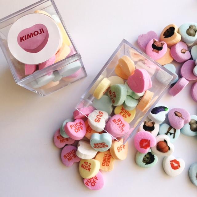 Kim Kardashian Candy Hearts – Custom Conversation Candies for Kimoji