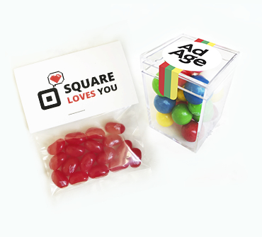branded candy favors