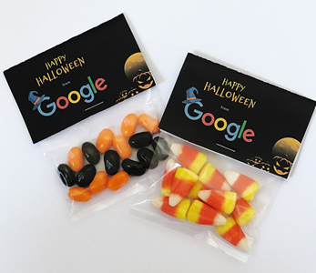 personalized halloween candy bags with logo
