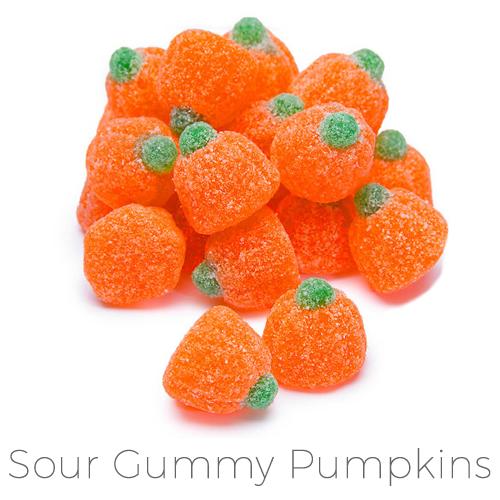 custom halloween candy pumpkins