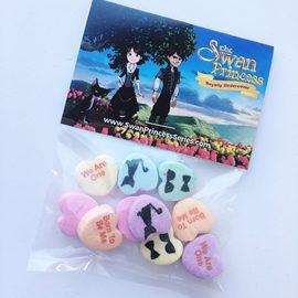 custom-logo-candy-swan-princess